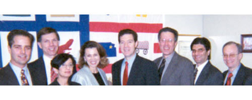 Senator Brownback Meets With AILA Attorneys