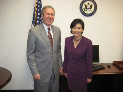 Congresswoman Judy Chu & Attorney Carl Shusterman