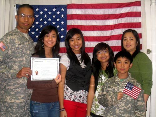 Immigrant Soldier Becomes U.S. Citizen
