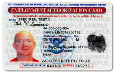EAD, Employment Authorization Document, Work Permit, Renew, I765