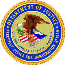 EOIR, Executive Office of Immigration Review, BIA, Immigration Courts