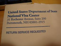 National Visa Center FAQ, Immigration, State Department